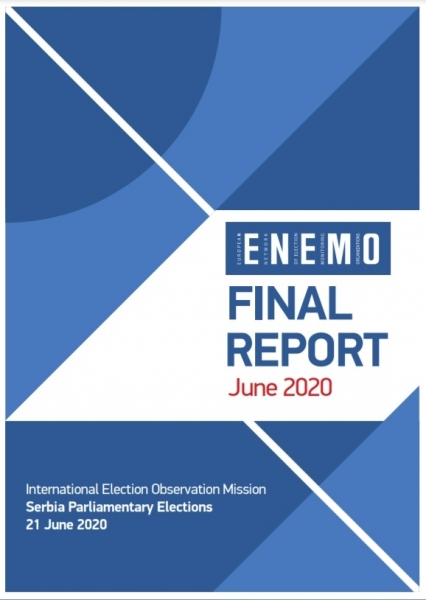 ENEMO IEOM to Serbia releases its Final report