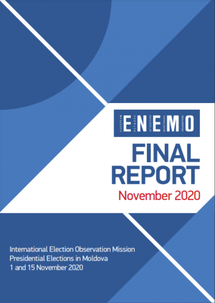 ENEMO IEOM to Moldova publishes its Final report on Presidential Elections in Moldova 2020