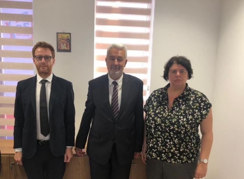 ENEMO representatives met with the Prof. Zdravko Krivokapic from the For the Future of Montenegro Coalition