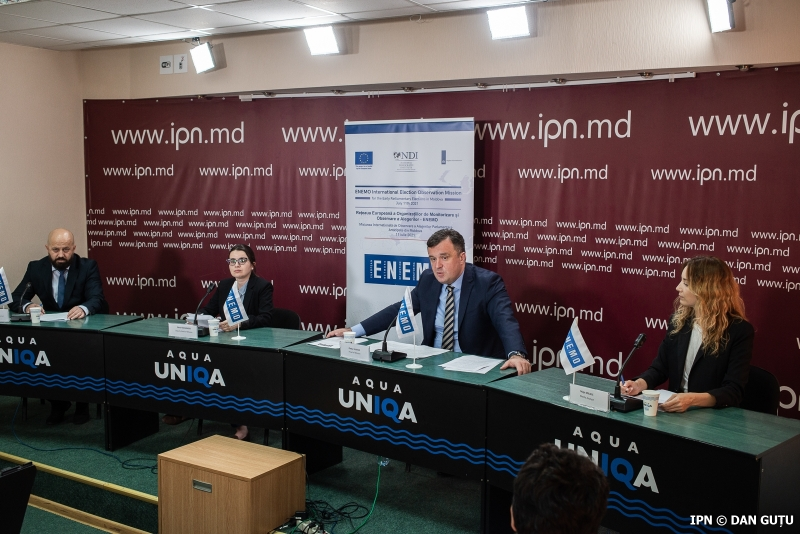 ENEMO's IEOM to Moldova publishes its Statement of Preliminary Findings and Conclusions