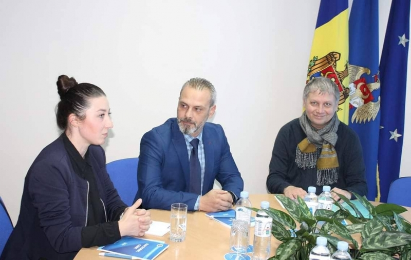 Head of the ENEMO IEOM to Moldova met with the Deputy Head of Central Election Commission