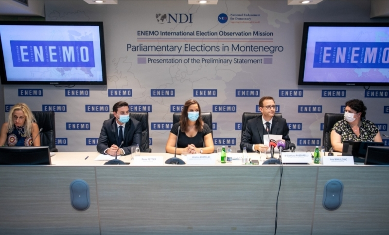 ENEMO presented its Statement of Preliminary Findings and Conclusions