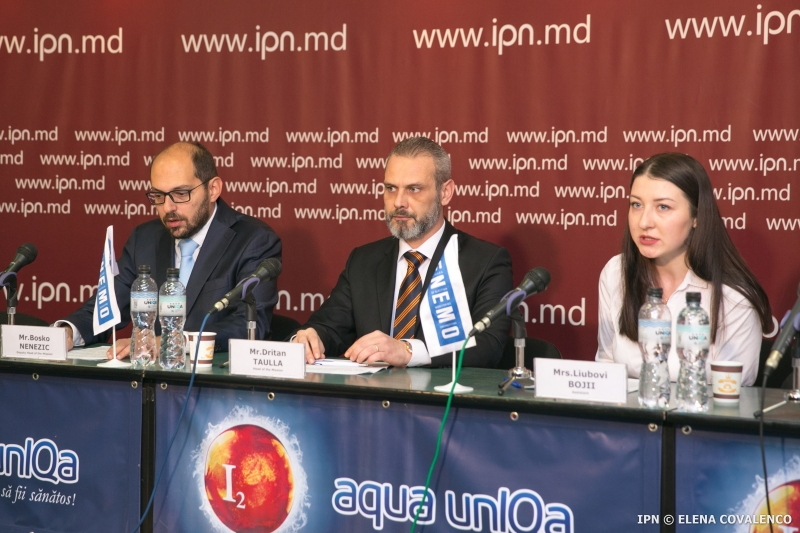 ENEMO International Election Observation Mission (IEOM) to Moldova for the Parliamentary Elections of 24 February 2019 organized the first press conference