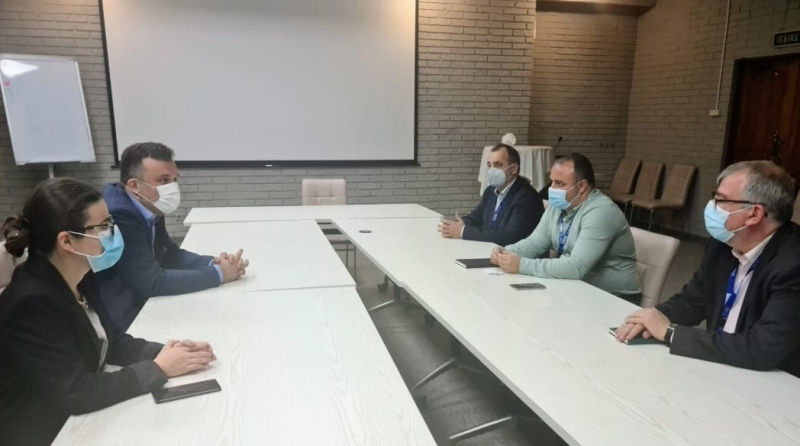 ENEMO's IEOM to Moldova met with ODIHR EOM representatives