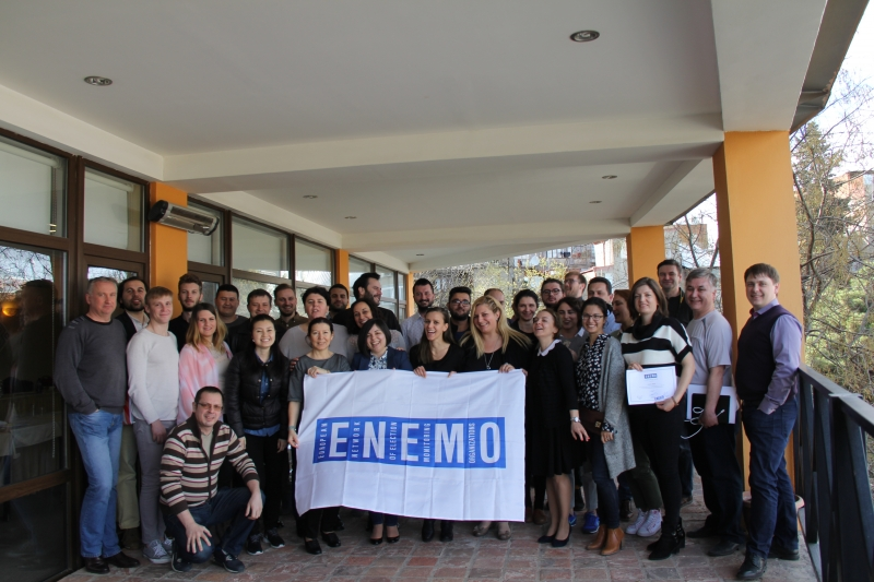 Third ENEMO LTO training