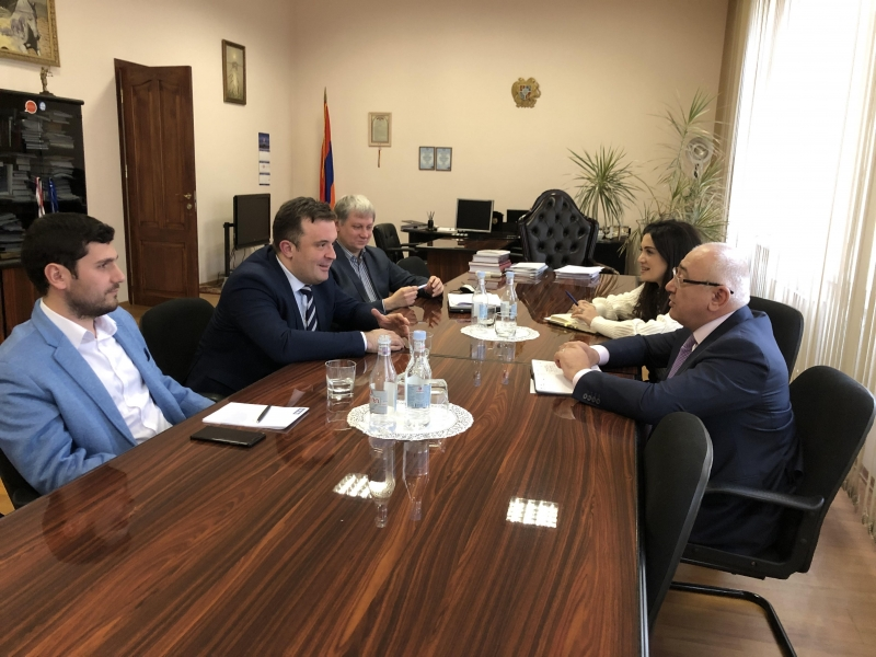 Delegation of ENEMO met with the Chairman of the CEC in Armenia
