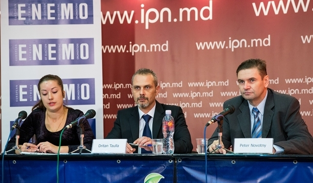 Launch of the ENEMO EOM to Moldova
