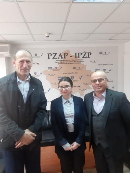 Elene Nizharadze, Deputy Head of Mission of ENEMO's IEOM to Kosovo for 2021 Local Elections met with Mr. Shukri Sulejmani, the Chairman of the Election Complaints and Appeals Panel, and Mr. Mulë Desku, the Chairman of the Secretariat