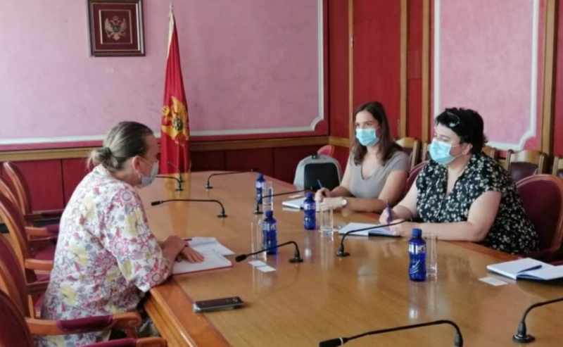 ENEMO representatives met with the Chair of the Gender Equality Committee of the Montenegro Parliament