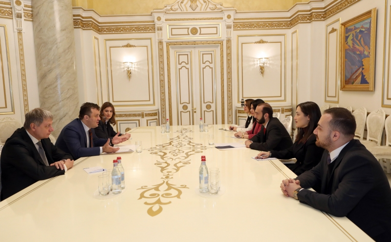 Delegation of ENEMO met with the First Deputy Prime Minister Ararat Mirzoyan