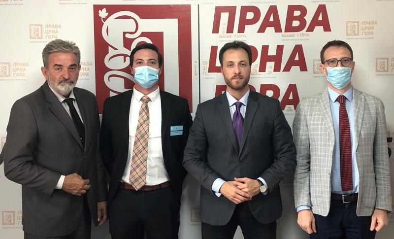 ENEMO representatives met with the leader of True Montenegro