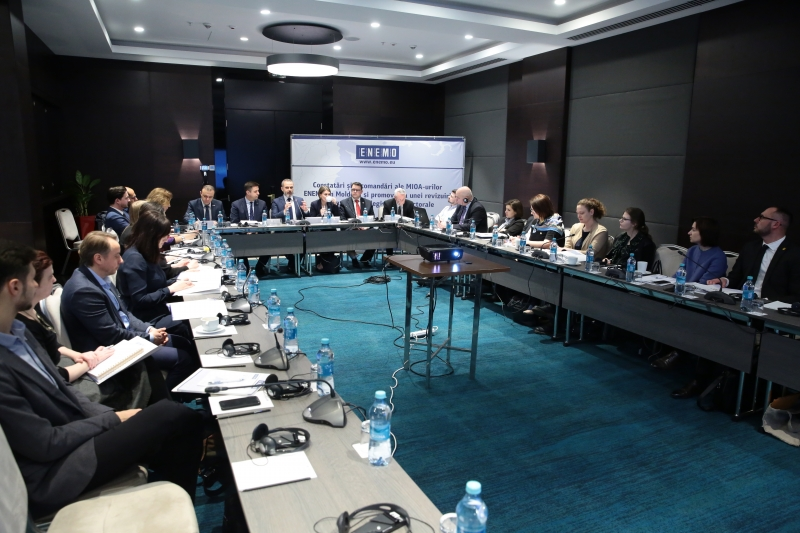 26 February, Chisinau - Round table ''Findings and recommendations from ENEMO IEOMs in Moldova and promoting a comprehensive review of the electoral legislation'' video