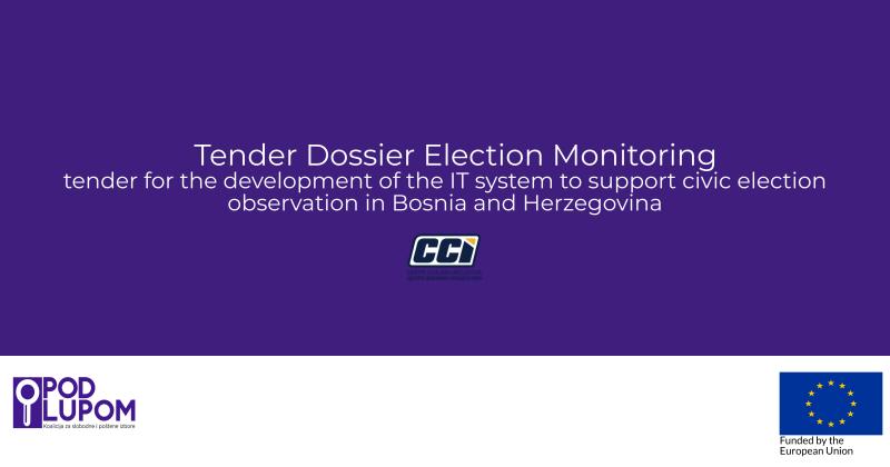 Tender Dossier Election Monitoring