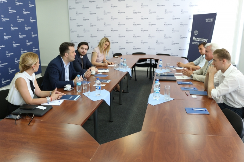 ENEMO IEOM to Ukraine visited RAZUMKOV Centre in Kyiv