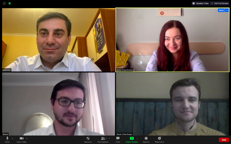 Deputy Head of the ENEMO Mission to Ukraine 2020 conducted a virtual meeting with Mr. Dmytro Lubinets