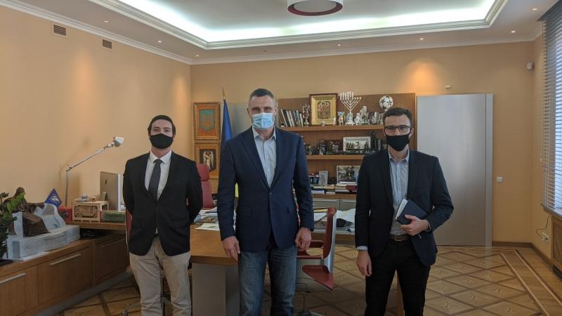 ENEMO meets with Major of Kyiv Mr. Klitschko