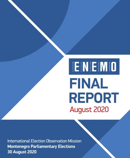 ENEMO publishes its Final report on Parliamentary Elections in Montenegro 2020