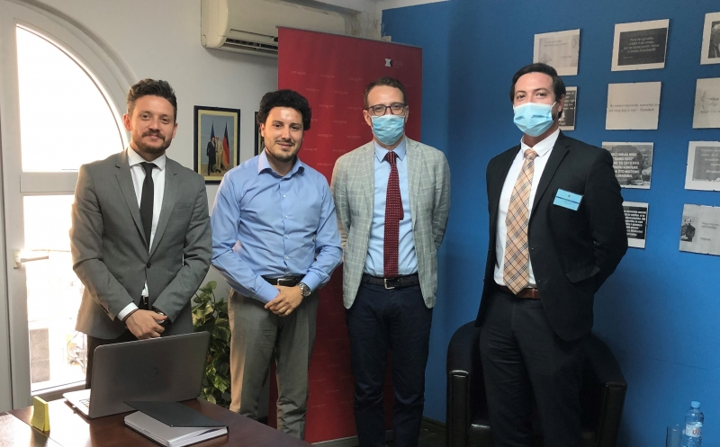 ENEMO representatives met with the leader of the Civic Movement URA