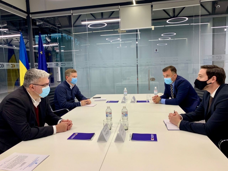 ENEMO representatives met with the deputies of the European Solidarity Party in Ukraine