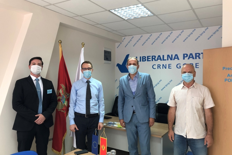 ENEMO representatives met with the leader of Liberal party