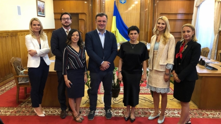 Head of ENEMO Mission met with the Head of Central Election Commission of Ukraine