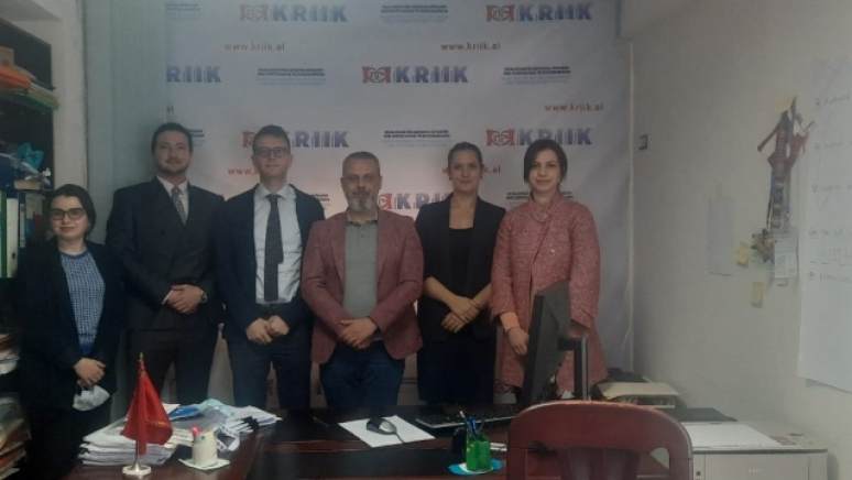 ENEMO IEOM to Albania met with representatives from KRIIK Albania Association