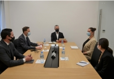 ENEMO IEOM met with State Election Commissioner, Mr. Ilirjan Celibashi, at the premises of the CEC